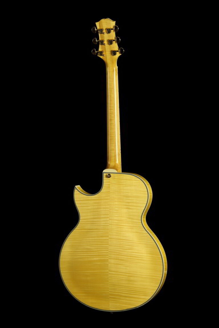 Entrada Archtop Jazz Guitar (Back, Blonde)