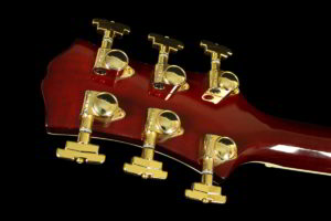 Ruby Red, Back of Headstock