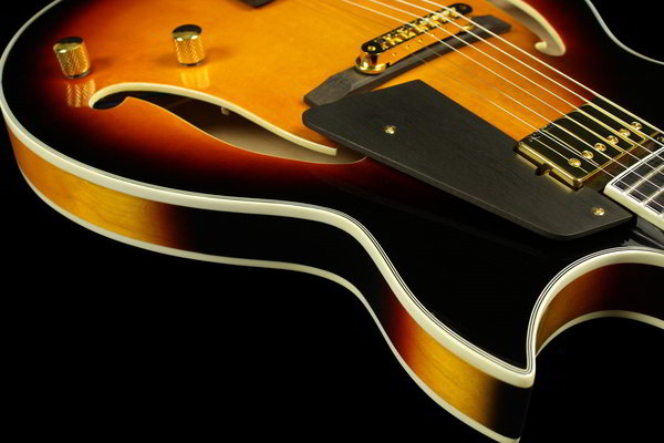 Sunburst Salita Jazz Guitar