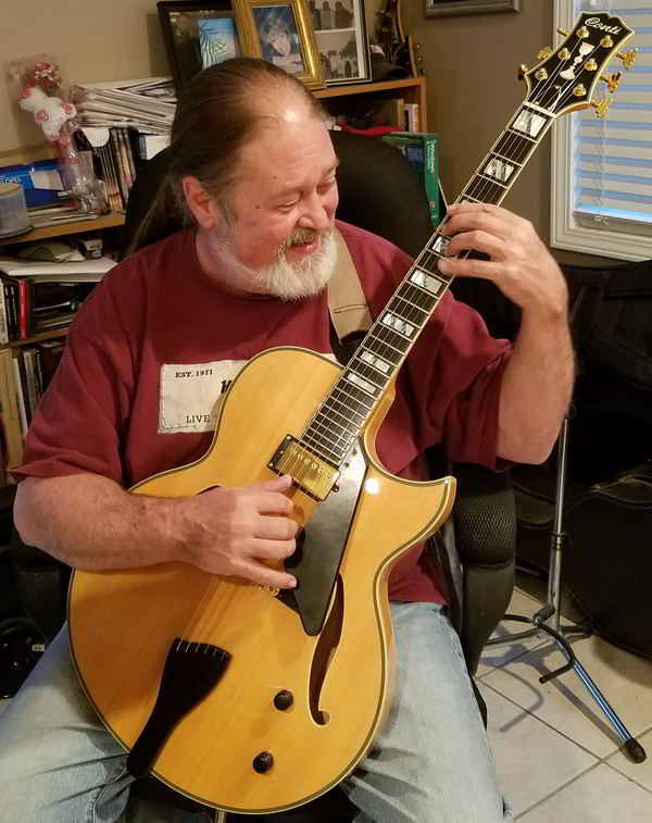Leaptrott's Blonde Conti Heirloom Archtop Jazz Guitar