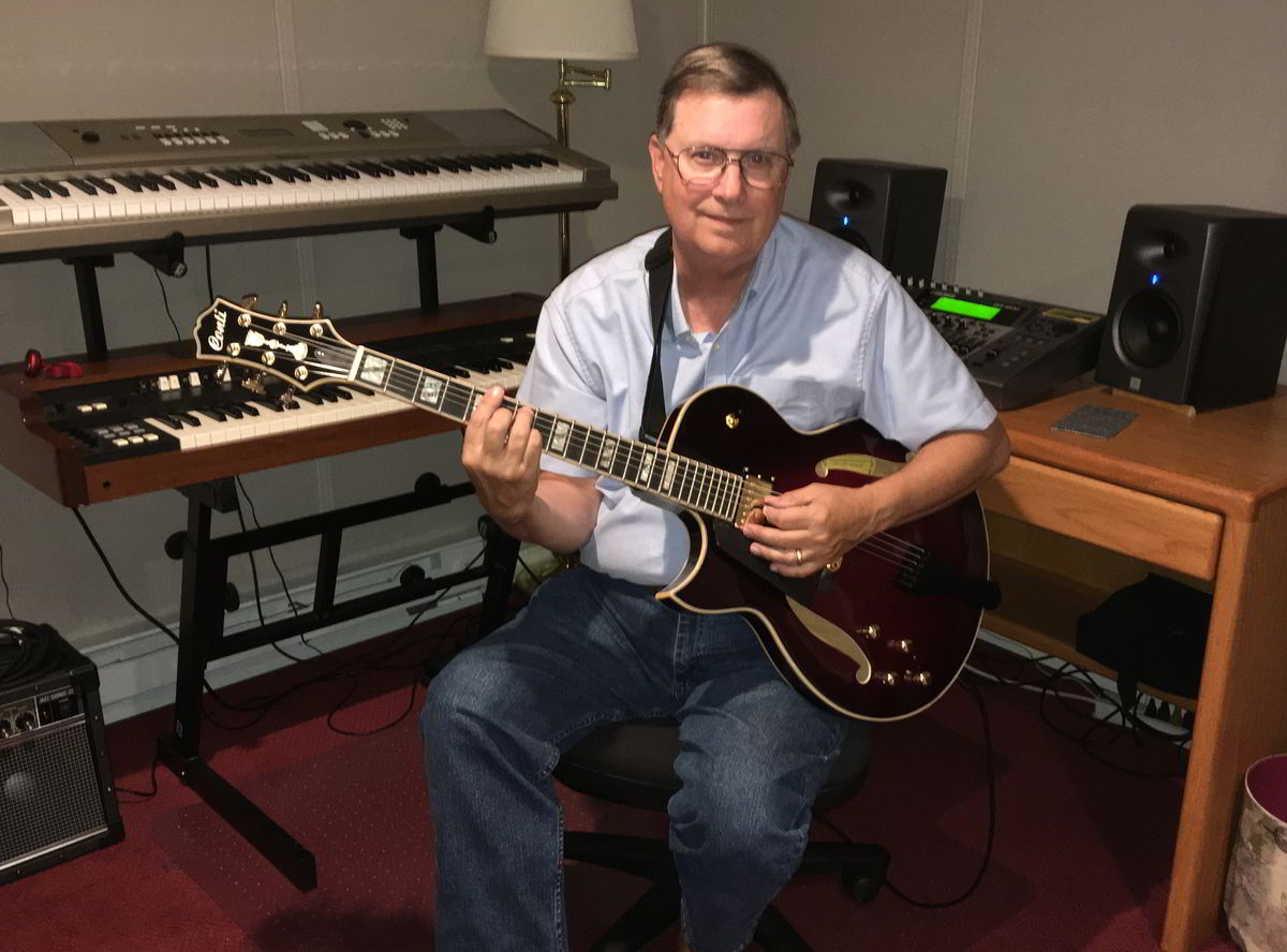 Paul Swanson with his lefty Entrada