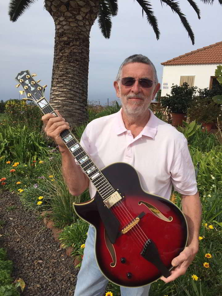 Robert Gardner, Left Handed Heirloom Archtop