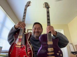 Dennis Wechter's Two Conti Guitars